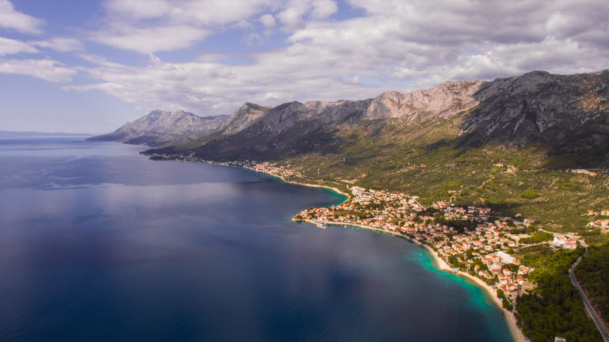 riviera-gradac-from-air